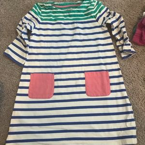 Mini Boden Striped Dress
